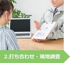 2.打ち合わせ・現地調査