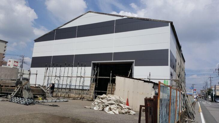 倉庫 外壁塗装